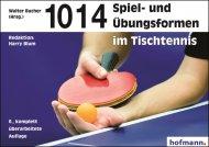 1014 Spiel- und Übungsformen fürs Tischtennis