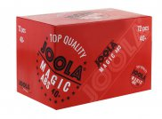 Joola Magic ABS Trainingsball 72er - weiß