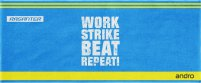 andro Handtuch Work,Strike,Beat,Repeat