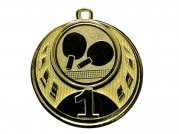 *Medaille (50mm) - Gold