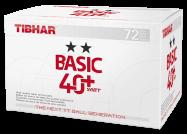 Tibhar ** Ball 40+ SYNTT 72er - weiß