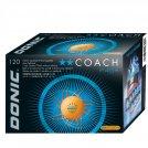 Donic Ball** Coach P40+ orange - 120er