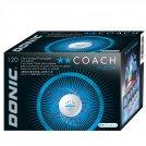 Donic Ball** Coach P40+ weiß - 120er